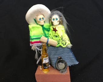 Day of the dead skeleton couple #9
