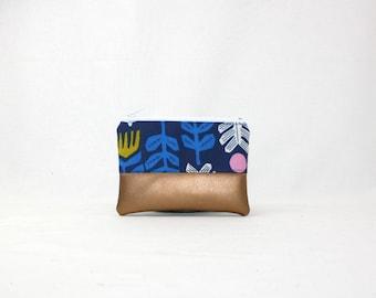 Mini bag - Cirrus copper, bag, cosmetic bag, purse, make-up bag, vegan, minimalist, pouch, pencil case,