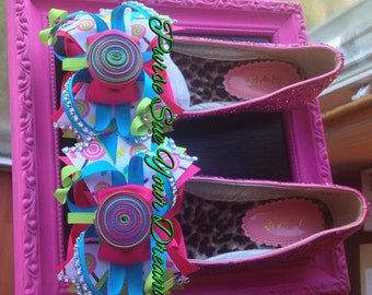 Candyland/Candy Shoppe Custom Shoes - Candyland Birthday - Infant/Toddler/Adults - Candy Shoppe Birthday - Candyland Birthday - Loillipop