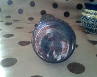Leonardo insbesondere schrägen grau blau Glas Vase H 21 cm