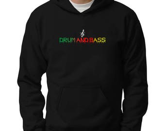 Dripping Drum And Bass Hoodie