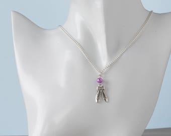 Ballet Shoe Necklace   Ballerina Necklace   Ballet Jewellery   Ballerina Gift  