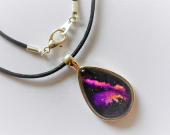 Desert Sky Galaxy Pendant - One of A Kind!