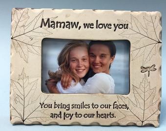 Mamaw Frame, Mamaw gift, best Mamaw gift