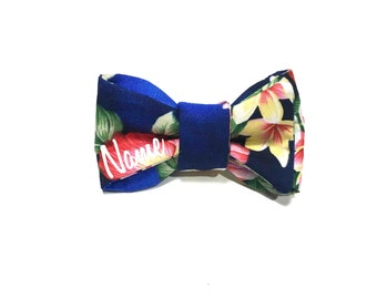Hawaii Blue Bow Tie
