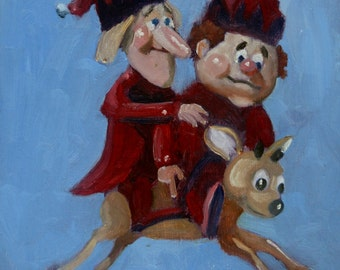 Jingle and Jangle (and Vixen, too!)