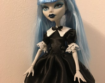 Black&White  Lolita Dress for Monster High doll