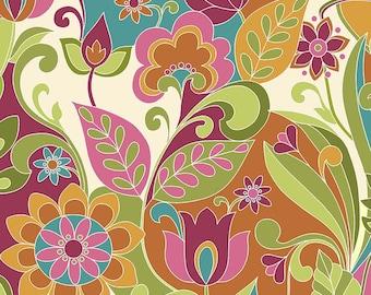 Riley Blake Designs Botanique Main Multi  Fabric  - 1 yard