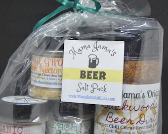 Beer Salt Variety Pack