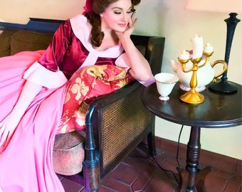 Winter Belle gowns - Beauty and the Beast - Disney Princess