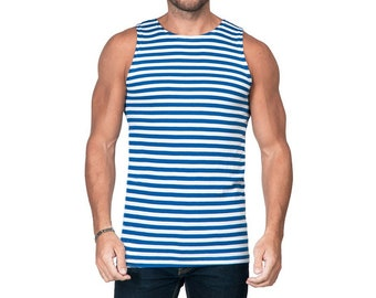 Russian Airborne troopers blue striped t-shirt