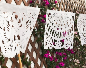 Wedding Mexican Papel Picado - 10 PACK