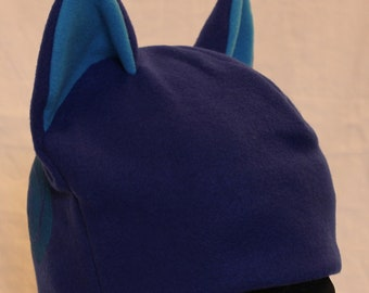 Water Elemental Cat Hat - BLUE & TEAL