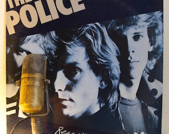 "The Police Vinyl Record Album ""Regatta De Blanc"" (1979 A&M)"