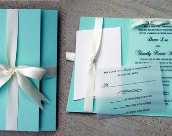 Deposit listing for 50 invitations