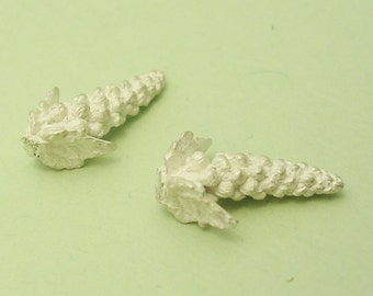 grapes organic casting component sterling silver US400-2
