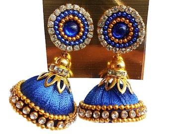 Gunu Silk Thread Handmade Earring