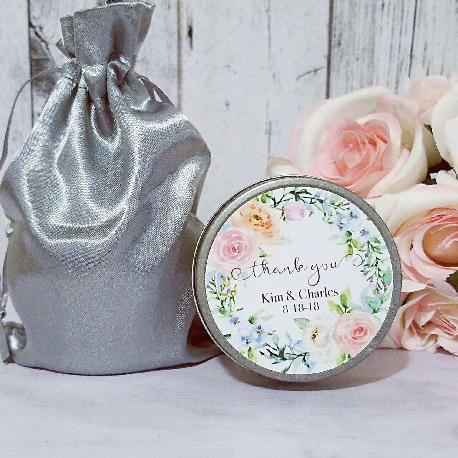Greenery Wedding Favors - Wedding Soy Candles Favor - Wedding Candle ...