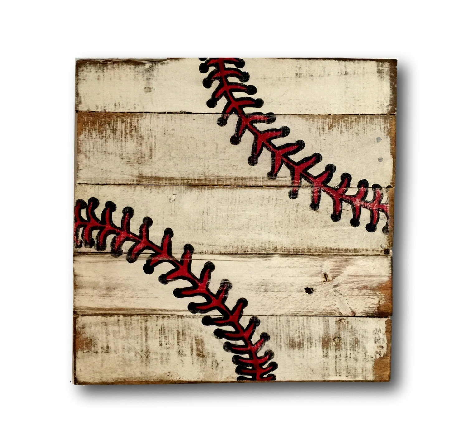 Wood Baseball Sign Boy Bedroom Decor Sports Decor Pallet