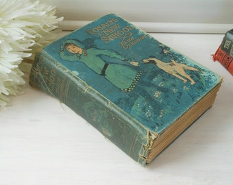 ON SALE!* Rosaly's New School by Elsie J Oxenham. Rare book. Hardback cloth bound. Illustrated.