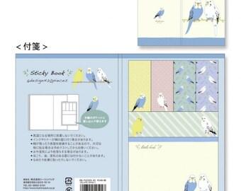 Parakeet Budgie Budgerigar Sticky Note Book Price depends on order volume.