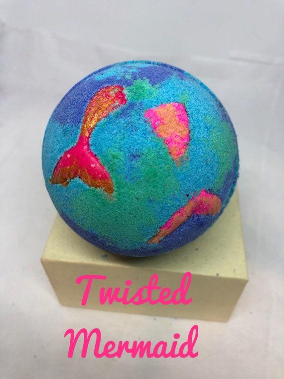 Twisted Mermaid Bath Bomb 5 sizes available