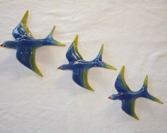 WALL HANGING SWALLOWS , sure to brighten up any wall .
