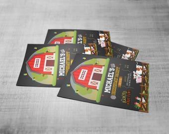 Farm concept invitation/birthday, special celebration and more...