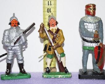Vintage knights toys Poland vintage toys rare PZG Żołnierzyki PRL
