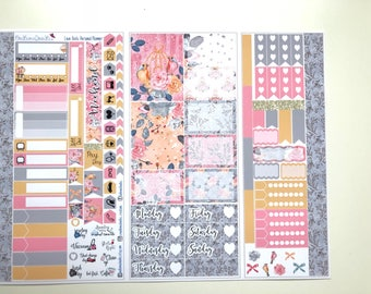 Love Birds Personal Planner Sticker Kit:
