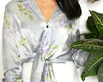 Vintage 90's Escada Silk Blouse