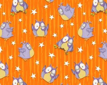 Chills and Thrills Glows in the Dark Owls on Orange