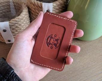 Minimalist ID Wallet, ID Wallet, Leather ID wallet, Id window wallet, personalized id wallet, mens id wallet, small id wallet, wallet id, id