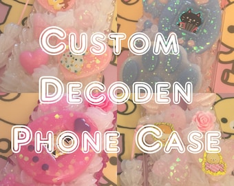 Custom Decoden Whip Phone Case | IrisDecoden