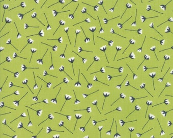The Front Porch Fabric - Pistachio Florets Porch Fabric - Sherri & Chelsi - Sold by Half Yard