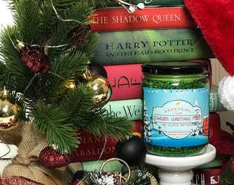 Charlie's Christmas Tree | Charlie Brown Inspired Candle