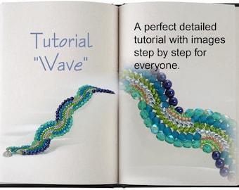 Jewelry Tutorial.... Wave... Bracelet Tutorial