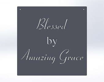 Blessed By Amazing Grace