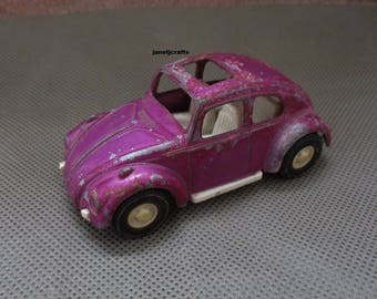 Tootsie toy Volkswagen , 1970's Toy car, Toy car ,Vintage toy , Tootsie toys, Vintage Volkswagen toy , Die cast car