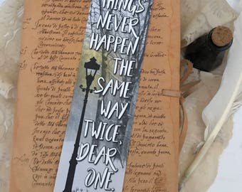 Narnia Bookmark, CS Lewis Bookmark, Fantasy Bookmark, Aslan Quote Bookmark, Wanderlust Bookmark, Book Lover, Book Gifts