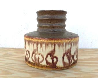 Danish Keramik Vase ... modern pottery ... studio pottery