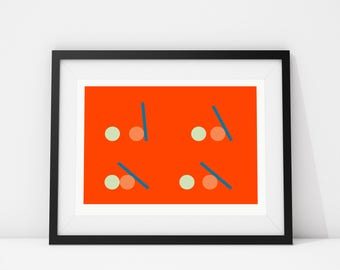 Momentum Part I - Archival Quality Giclee print A4/A3