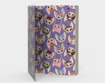 Purple Sphynx Kitties