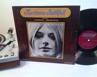 Marianne Faithfull - Self Titled - First Album - 1965 - Mod - Dreamy British Pop - As Tears Go By - This Little Bird - Mick Jagger
