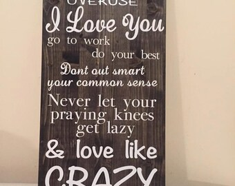 Love Like Crazy Song Lyrics Sign
