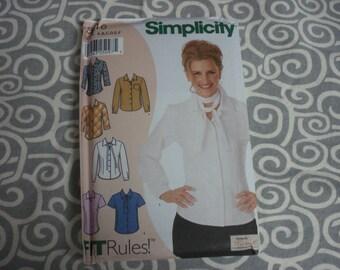 Simplicity blouse pattern