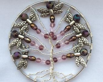 Dragonfly Bead Tree of Life