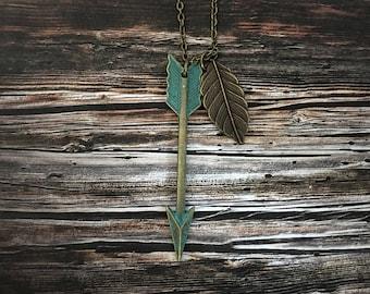 Rustic Arrow | Leaf