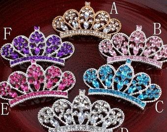 20% OFF Crystal Crown For Tiara Headbands Princess Rhinestone Embellishment For Hair Accessory