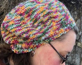 Multicolor Slouchy Hat